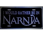 C. S. Lewis Chronicles of Narnia Car Tag License Plate