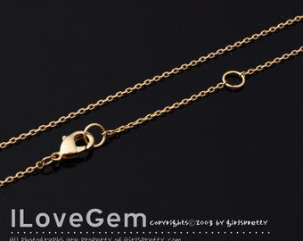 WSALE / 20 pcs / NP-1768 Gold plated, 230 Diamond Cut chain, 16-18 inch chains / Thin chain, Dainty Chain, Delicate Chain
