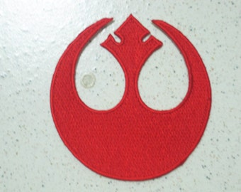 Free shipping STAR WARS Rebel Alliance Patch Badge 7.5x7.5 CM b