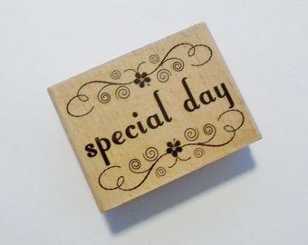 Special Day Rubber Stamp by Studio G