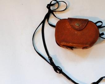 Vintage 1940s West Master II Light Meter in leather case
