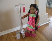 Reserved listing for Claudine - IV Cart - IV Pole - for Pet Hospital and Boarding Set for American Girl Doll or Pets