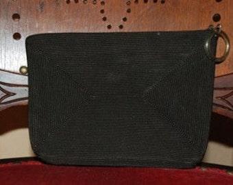 Black Soutache Braid Handbag