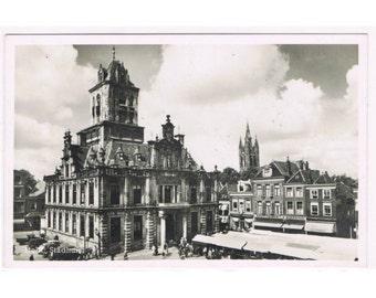 3 Vintage Holland Postcards - Delft - Netherlands - Europe