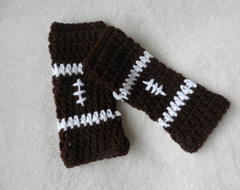 Football Fingerless Gloves