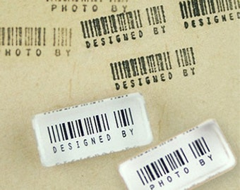 Barcode Crystal Mini Stamp (1 x 0.45in)