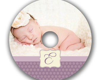 INSTANT DOWNLOAD -  Cd/DVD Label Photoshop template - 0523