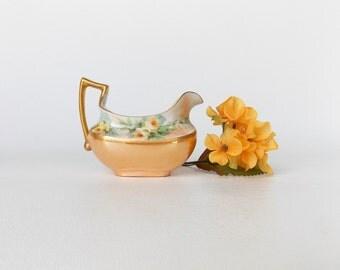 Vintage Limoges Creamer- Made in France- Tressemanes & Vogt Limoges-- Vintage 1930's