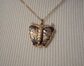Damascene Butterfly Pendant