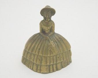 Vintage Brass Bell - Southern Belle