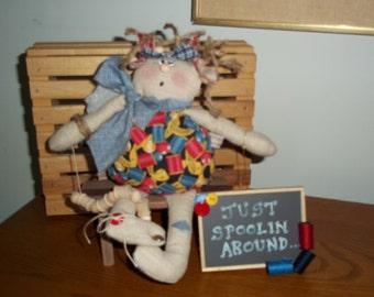 Prim Annie-Small-Spoolin Around