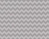 Small Chevron - Tone on Tone Gray by Riley Blake