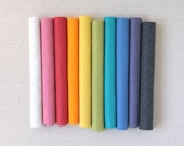 Wool Felt // Promise Colors // Merino Felt, Felt Sheets, Bright Color Palette, Rainbow Colors, Felt Collection, DIY Craft, Wool Blend Felt