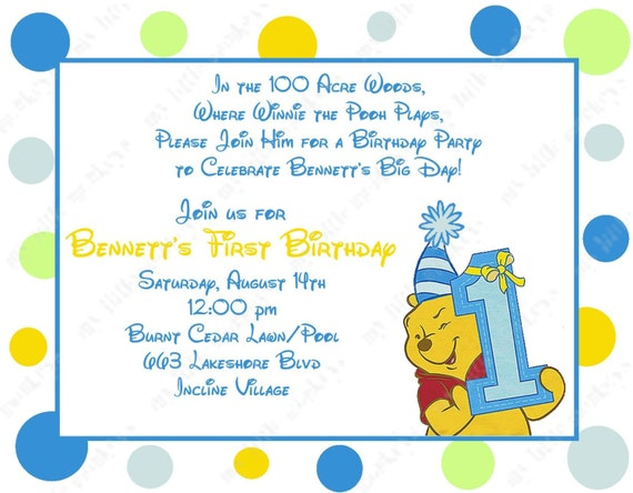 1St Birthday Party Invitations as perfect invitations template