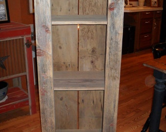 Outhouse Style Hutch