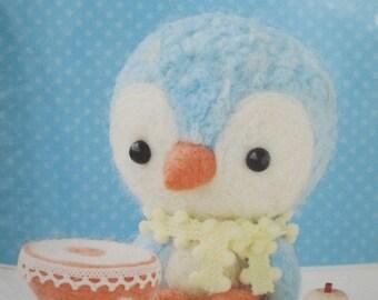 Sales Item Hamanaka Felt Wool Needle Felting Craft Kit - Penguin