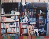 Bookshop photograph postcard - original book photo