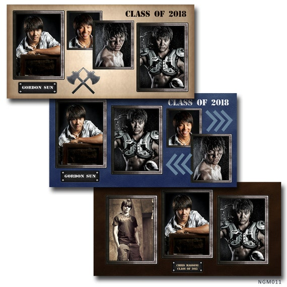 senior photo collage templates - items similar to senior graduation collage storyboard