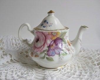 Miniature China Teapot / England