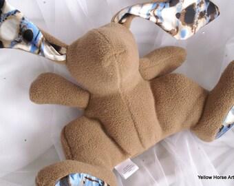 Phat B bunny - custom order - flat fleece - solid or print