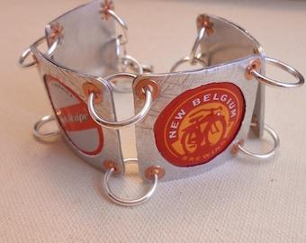 Beer Cap Bracelet