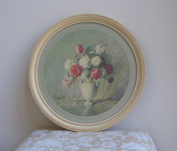 Vintage Floral Still Life By Carle J Blenner 1930 S Wall