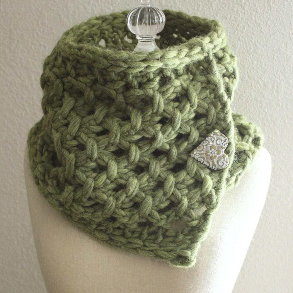 Knitting Pattern / Cowl Neckwarmer / Lattice / PDF DIGITAL