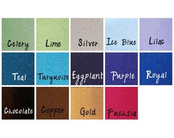 Satin Fabric Swatch Color Match - Wedding Satin