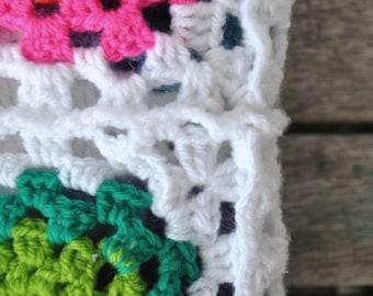 Toddler Size Crochet Blanket - Spring (Custom Made)