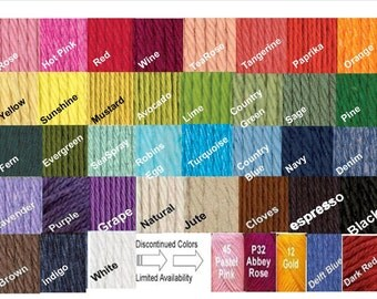 Crochet Cotton Dishcloths - You pick the colors
