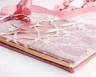 Vintage, Retro  Wedding Guest Book  - Victorian Magic