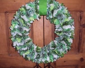 St.Patrick's Rag Wreath