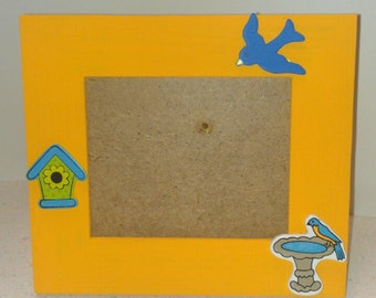 3.5in X 5in Birds Picture Frame