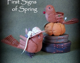 First Signs of Spring E-PATTERN by cheswickcompany