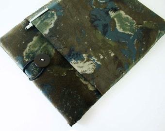 iPad case sleeve for ipad 4,ipad 3 / ipad 2 -PADDED - FRONT POCKET