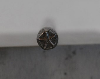 Starfish -  Metal Design Stamp-5 mm-Metal Stamping Supplies for Personalized Jewelry
