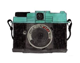 Diana mini camera (Limited Edition PRINT)