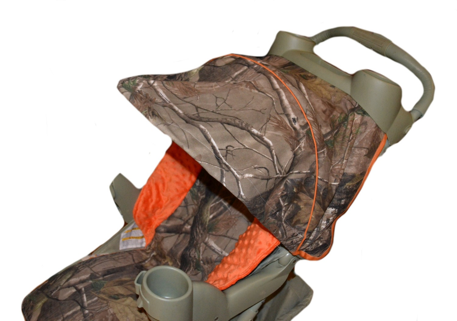 Stroller Cover Camo And Orange