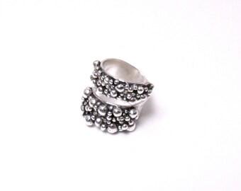 Tiny Rocky Wrap Ring