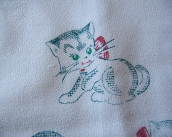 adorable kitty towel number four