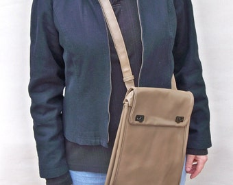Vintage Army Map Case, Satchel, Shoulder Bag - Perfect for iPad, Kindles, Tablets
