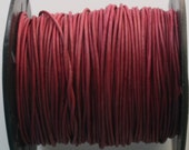 3 Yards of Naturally Dyed 1mm Leather Cord in Cyclaman