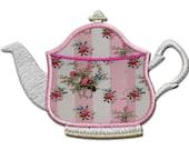 Tea pot  Applique from the Vintage Tea set.