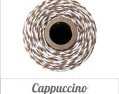 Cappuccino - Brown and White Baker's Twine by The Twinery - 240 yard spools