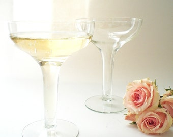 Hollow Stem Champagne Glasses Vintage Coupes Champagne Saucers Wedding Glasses