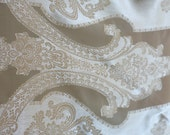 Golden Ivory silky ornamented Shawl - MagpiesShop