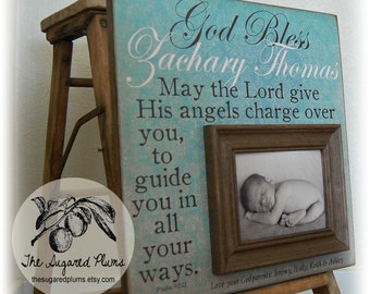 unique baptism gift baptism gift from godparent baptism gifts for godchild godson gift godchild gift personalized baptism frame 16x16