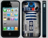 Apple iPhone 4/4S cases. Star Wars R2D2 (Blue) Custom Silicone Apple iPhone 4/4S cases.