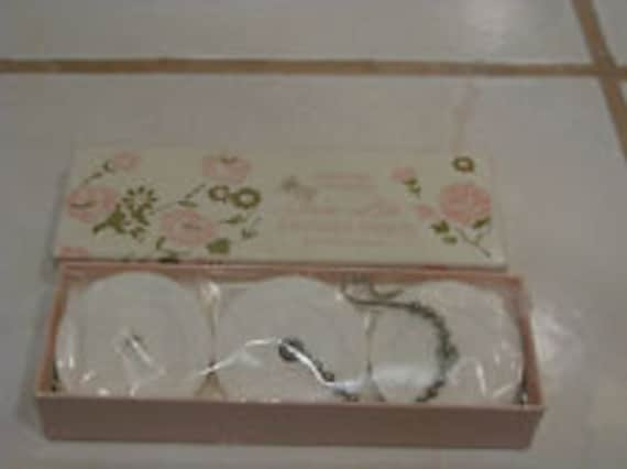 Vintage Circu-Lite Fragrance AROMA DISCS for Table Lamp 3 in Pink Rose Box  Chain to Hang Karen Carson Creations Boudoir BIsque 551 Scent