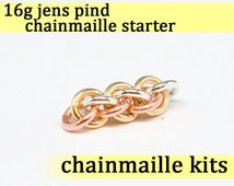 16 gauge Jens Pind Chainmaille Starter 16g
